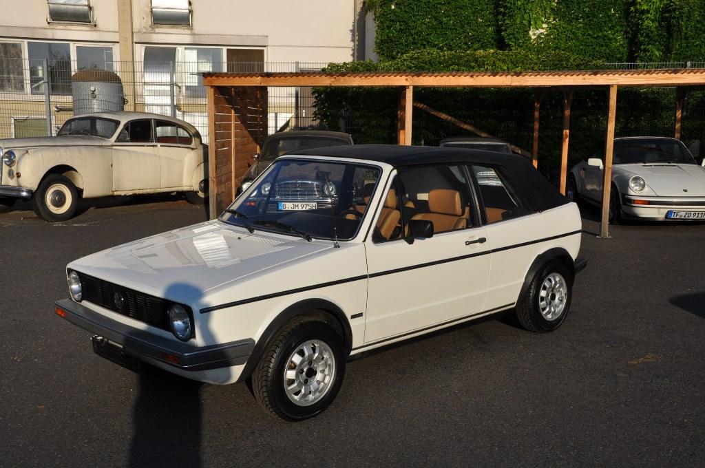 classic car berlin vw golf cabrio gli. Black Bedroom Furniture Sets. Home Design Ideas